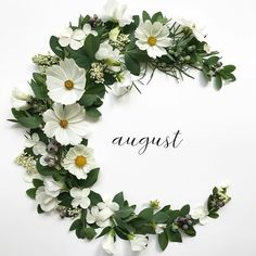 The Best 20 Garden Decoration Ideas Of 2019 Hello August, August Month, New Month, June Flower, Month Flowers, Days And Months, Months In A Year, Corona Floral, Beach At Night