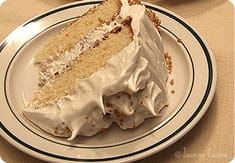 Supreme Delight Maple Cake with Meringue Ice Cream - Jasmine Cuisine Healthy Dessert Recipes, Easy Desserts, Delicious Desserts, Cake Recipes, Nutella Chocolate Chip Cookies, Chocolate Desserts, Maple Cake, Canadian Cuisine, Glaze For Cake