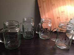 Cleveland Glasses Gift Set - Mason Jar Glass Set of 4 - Cleveland - Buckeyes - Cleveland Gift - Ohio - Northeast Ohio. Our Gift Set of Cleveland Themed Etchings include 4 Glasses: -CLE -216 -State of Ohio with Home & Heart over Cleveland -O-H-I-O Silhouette. Please do not hesitate to message us your own combination. Thanks!.