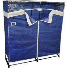 Portable Closet Garment Storage Wardrobe Organizer Clothes Rack Heavy Duty NEW #PortableClosetGarment
