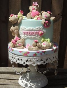 Scruffy Teddy Cake