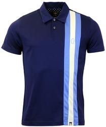 Blackpool PRETTY GREEN Northern Soul Striped Polo