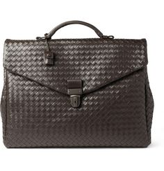Bottega Veneta Large Intrecciato Leather Briefcase - soft and spacious