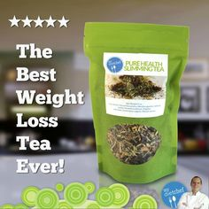 Weight Loss Tea By Chef Jeff. This Organic Herbal Tea Is Specially Blended By a Chef Famous for Cooking for Dr...