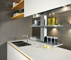 My Kitchen is Your Kitchen. Fenix Ntm, Floating Shelves, Kitchen, Table, Furniture, Home Decor, Cooking, Decoration Home, Room Decor