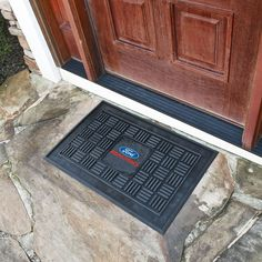 Ford - Ford Racing Medallion Door Mat