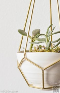 9 #Beautifully Unique #Methods for Making DIY #Hanging Planters ...