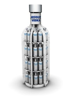 Exhibidor Botella Absolut