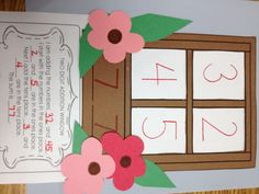 2 digit addition window! A good way to learn double digit addition!