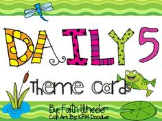 These cards were created to use with CAFE/Daily 5. The theme is frogs. If you are looking for a specific theme visit me at Teachers Pay Teachers :)