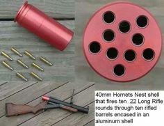 CRAZY 40mm Hornets Nest!