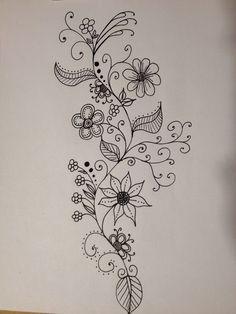 Resultado de imagem para doodles flowers
