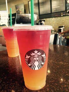 The Coachella Sunrise shared with the Secret Menu for Starbucks App!