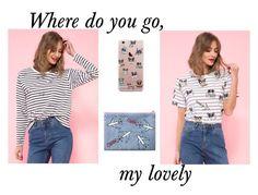 """""""where do you go"""" by aneczkaxoxo on Polyvore featuring moda"""