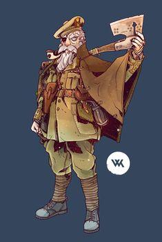 Art by Will Kirkby* • Blog/Website | (http://chamonkee.tumblr.com) ★…