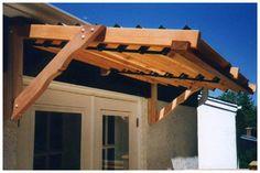 wood awning - Google Search