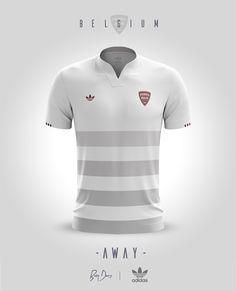 Jerseys concepts for national teams with Adidas Originals c2ed2116e95fb