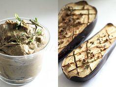 Caviar d'aubergine — Veggie Raw Food Recipes, Veggie Recipes, Cooking Recipes, Healthy Recipes, Vegan Food, Batch Cooking, Cooking Time, Caviar D'aubergine, Vegetable Salad