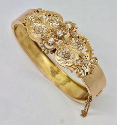 0d4781012 Catawiki online auction house: 18 kt. Pink gold - Napoleon III cuff  bracelet -
