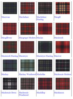 """Macbean - my family tartan. I will incorporate this into my dress somehow. Jim's kilt may be made from the Macbean as well. Scottish Clans, Scottish Tartans, Scottish Gaelic, Scottish Kilts, Scotland History, Tartan Kilt, Tartan Men, Fashion Vocabulary, Men In Kilts"