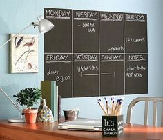 Share Tweet + 1 Mail Tanga has a super deal today! Get a 6 Foot Chalkboard or Whiteboard wall decal  ...