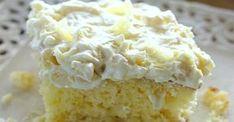 Ce gâteau ENSOLEILLÉ à l'ananas est parfait pour l'été qui approche!
