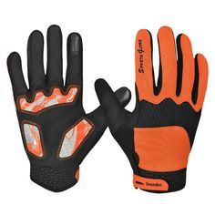 compare prices high quality winter full finger cycling bicycle bike gloves sports accessory road #mountain #bike #gloves
