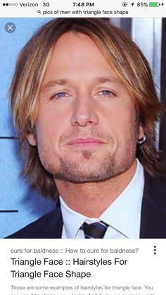 7 Best Men S Face Shape Images Male Face Shapes Actresses Haircuts