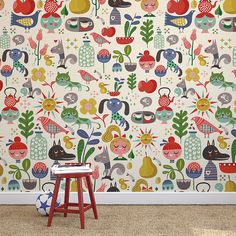 Colorful Wallstickers by Chispum - Petit & Small
