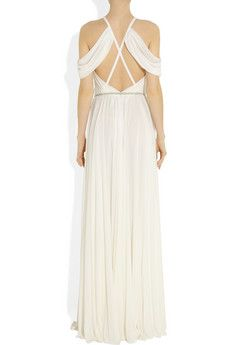 Ralph Lauren Collection Sutherland draped jersey gown