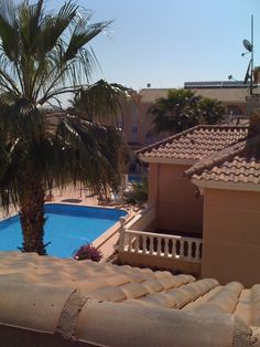 View from my roof terrace.... Los Alcazares