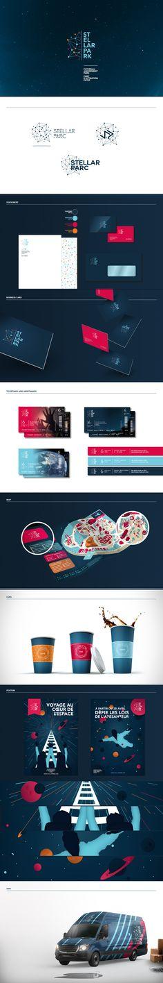 STELLAR PARK • Branding on Behance