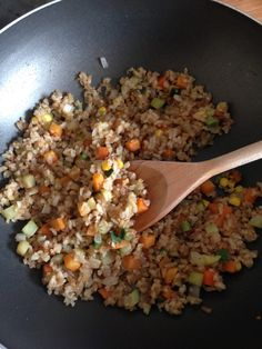 Mi Mundo alcalino: Yakimeshi de Verduras con arroz integral Healthy Nutrition, Healthy Eating, Healthy Food, I Love Food, Good Food, Vegetarian Recipes, Healthy Recipes, Asian Recipes, Ethnic Recipes