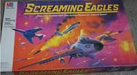 Screaming Eagles ~ My dad and I played this one quite a bit years ago.  It's a bit of Battleship mixed up with dogfighting fighter jets!