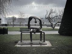 Sculpture: Melancholia by Albert Gyorgy