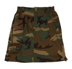 Camouflage Skirt Woodland Camo Skirt (XS) Rothco - Fashion for Women and Men Camo Baby Clothes, Camo Baby Stuff, Military Inspired Fashion, Military Fashion, Military Clothing, Women's Clothing, Camouflage, Women's Camo, Army Navy Store