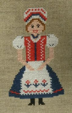 Doll in Hungarian folk costume | Craftsy