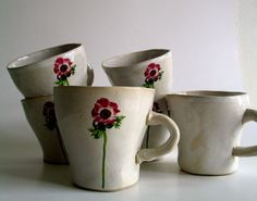 anemone mugs