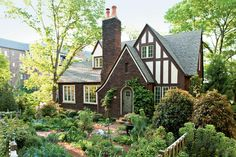 Who hasn't dreamed of coming home to a cottage garden? Densely planted with everything from flowers to fruit, they exude grace and charm. When Betsy Fleenor and husband Michael purchased their Birmingham Tudor-style home, the front yard was very different from what you see today. The carpet of grass and boring shrubs didn't enhance the house. Betsy envisioned a cottage-style garden, but it took 15 years for the garden of her dreams to become a reality. Out came the lawn, and in went the…