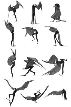 Fantasy Character Design, Character Design Inspiration, Character Art, Creature Concept Art, Creature Design, Drawing Reference Poses, Drawing Poses, Creature Drawings, Animal Drawings