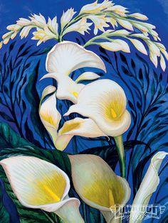 Google Image Result for http://image.lowriderarte.com/f/26223395/1001_lrap_14_o%2Boctavio_ocampo_metamorphosis_art%2Bwoman_in_flowers.jpg