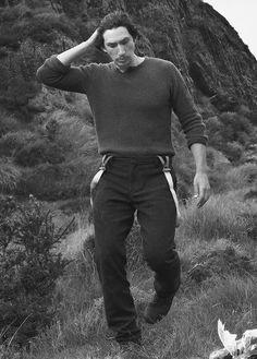 """ben–skywalker: """" Adam Driver Photoshoots Appreciation Tag ↳ by Annie Leibovitz - Vogue US Magazine September 2013 """""""