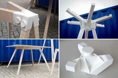 This Collab Could Make Ikea Furniture Building a LOT Easier via Brit + Co Used Office Furniture, Modular Furniture, Furniture Assembly, Ikea Furniture, Modern Furniture, Furniture Design, Impression 3d, Diy 3d Drucker, Ikea Shopping