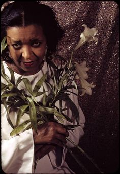 "Ethel Waters in ""Cabin in the Sky"" Act II. 138 by Carl Van Vechten 1940. Do you know her story?"