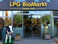 LPG - billed as Europe's biggest bio supermarket Big Bio, Organic Recipes, Berlin, Europe, Shop, Paradise, Store, Organic Dinner Recipes