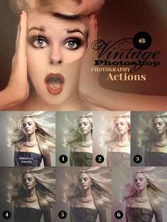 6 Vintage Photo Actions. Actions. $3.00