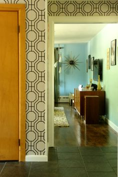 Just a glimpse of mid-century magic: Amy & Noah's Mid-Century Modern Ranch House | Apartment Therapy