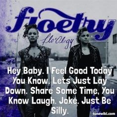 "-- #LyricArt for ""Lay Down"" by Floetry"