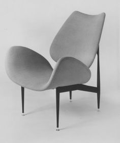 1960 'SCAPE' chairManufacturer: Aristoc Industries, MelbourneMaterials: Steel tube, plywood, sarmprene foam, upholstery fabric. Currently made under licence by Gordon Mather Industries  Range included: lounge chairs with & without arms, dining chairs, tables   Range includ...
