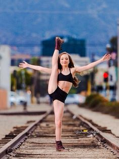 "Maddie Ziegler from Dance Moms! What an inspiration! She's danced to many of my songs on the show (""Confession"" and ""Birthday,"" among others). Having been a dancer myself, it's so touching to see young dancers enjoying my music!"